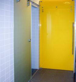 Personalräume Duschen