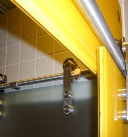 Detail Glastüren