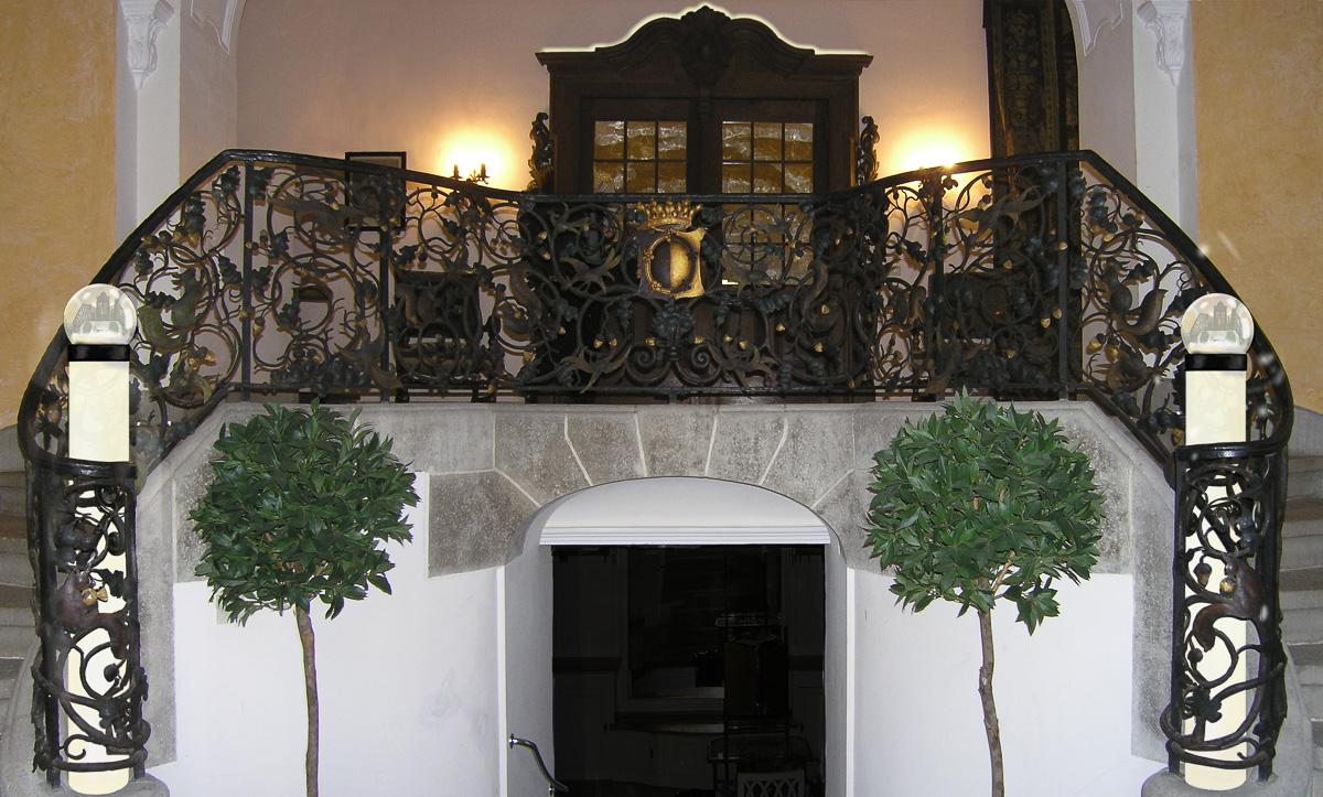Neuer Eingang zum Schloss