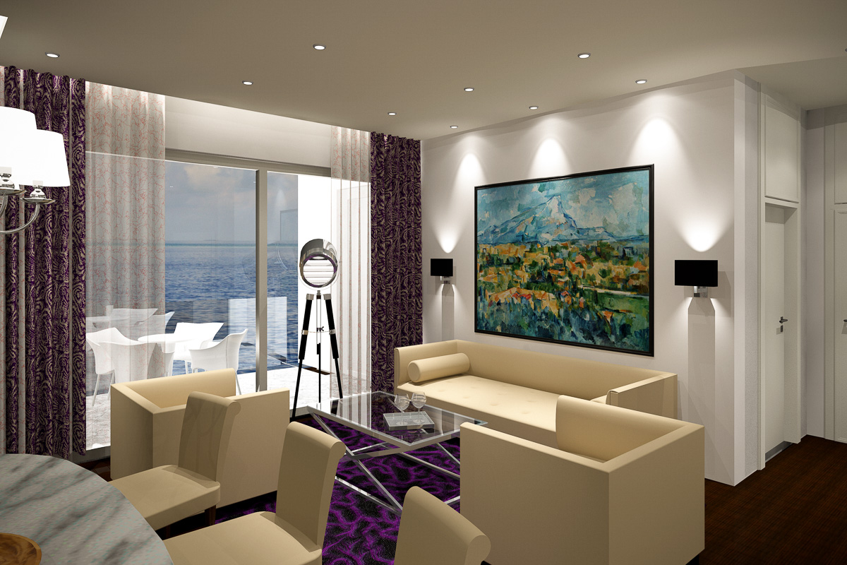 Suite Deluxe - Livingroom